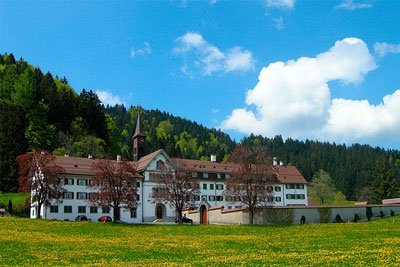 Kloster Au, Trachslau bei Einsiedeln